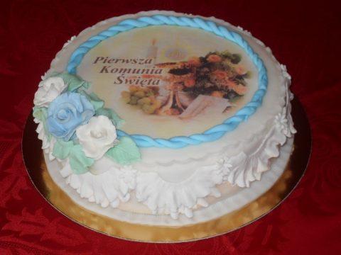 Tort komunijny – okrągły