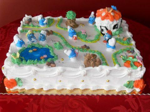 Tort – wioska smerfów