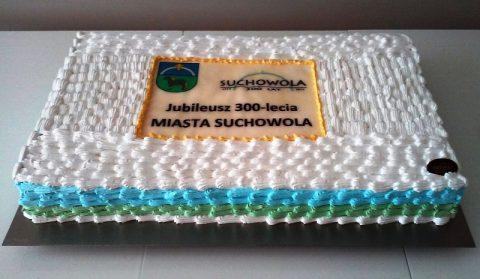 Tort 300-lecie miasta Suchowola