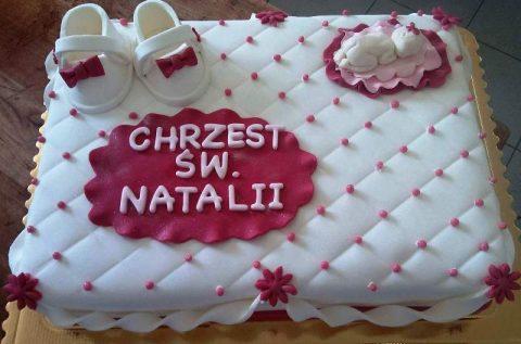 Tort – chrzest Natalii