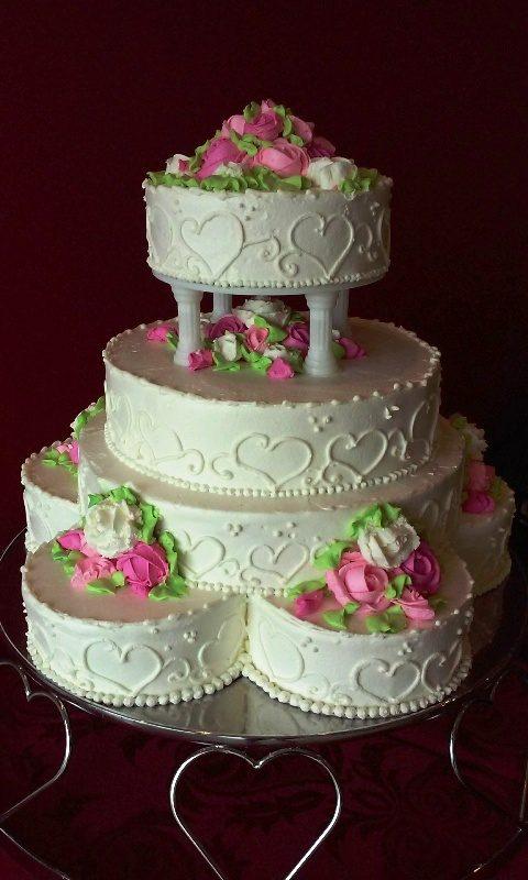 Tort Weselny z Kolumnami 31